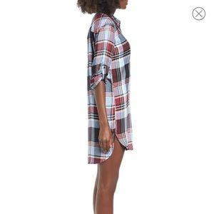 Dresses - SP Black Plaid Dress